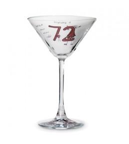 Personalised Purple Ronnie Cocktail Glass - Elder Female