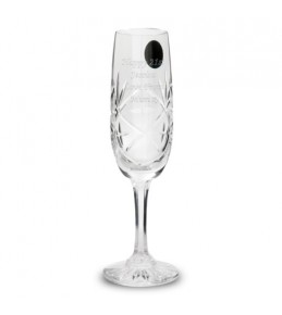 Personalised Crystal Champagne Glass