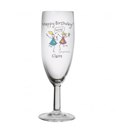 Personalised Birthday Flute