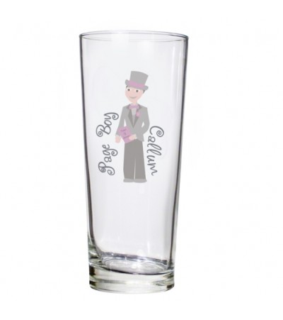 Personalised Fabulous Pilsner Glass - Young Male