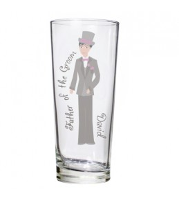 Personalised Fabulous Pilsner Glass - Male