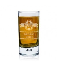 Personalised Diamond Shot Glass