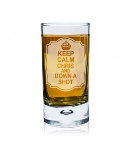 Personalised Keep Calm Shot Glass